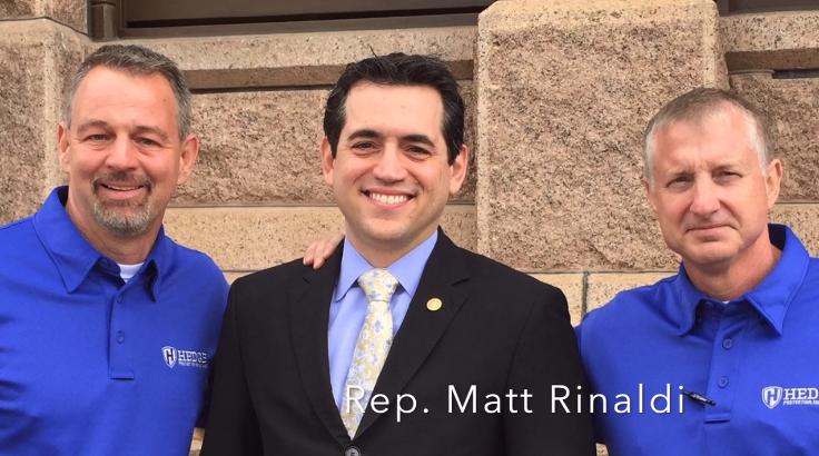 Hedge Ministries With Rep Matt Rinaldi